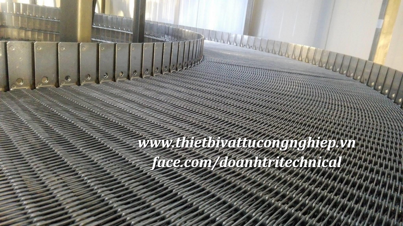 Băng Tải Lưới inox 304 | Băng Tải Xích Lưới Đan | Lưới đan Inox