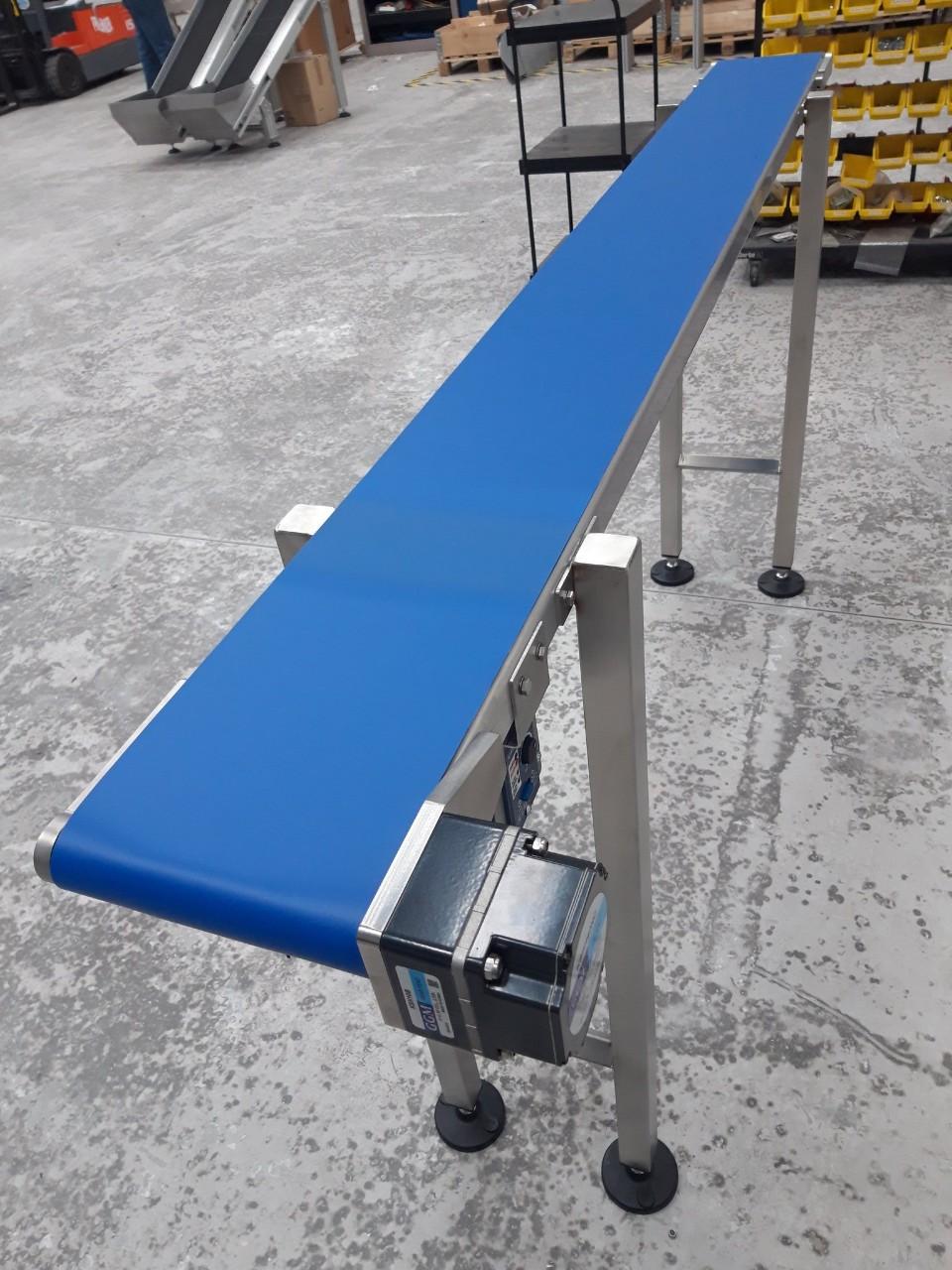 Băng Tải Nhựa Màu Xanh Dương - Băng tải Băng CHuyền Doanh Trí Technical