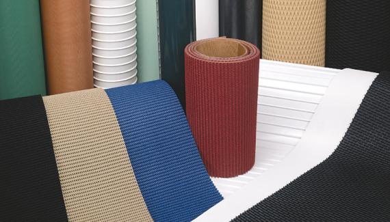 Băng Tải PU-PVC-PE sản xuất, thiết kế theo yêu cầu.