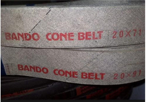 Dây Đai Quả Bầu | Dây Curoa BanDo Cone Belt 20x91,20x71, 20 x 94