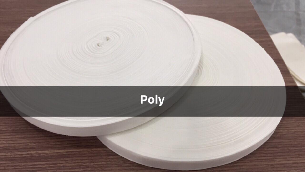 Phân phối Dây đai dẫn hướng Poly và Nomex | Vật tư ngành Giặt Ủi công nghiệp